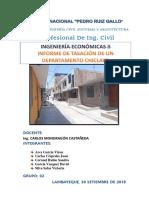 Tasación de Un Departamento Chiclayo David