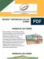 02. Origen y Naturaleza de Los Sismos