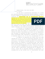 Fallo del caso Matanza Riachuelo - CSJN Argentina