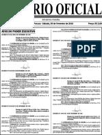 Diario Oficial 09-02-2019