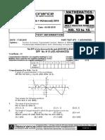 XI Maths DPP (01) - Sets,Relations _ Functions + Basic Maths