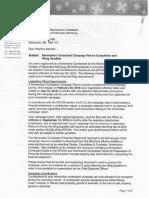 Elections Alberta letter to Stephen Mandel