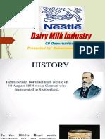 Dairy Milk Industry
