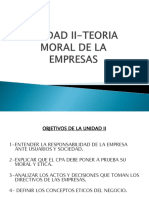 Unidad II-teoria Moral de La Empresa Ppt (1)