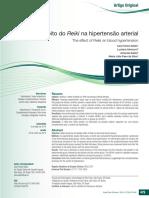 o Efeito Do Reiki Na Hipertensão Arterial
