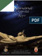 Revista de la Semana Santa de San Roque (Cádiz) 2017