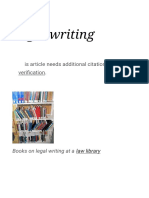 Legal writing - Wikipedia.pdf