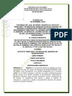 Acuerdo 026 Estatuto Tributario Municipal PDF