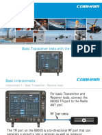 Basic Transceiver Tests With the 8800S