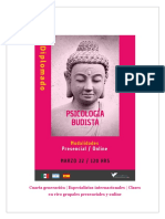 Diplomado en Psicología Budista
