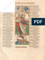 1494-In Vitam Divi Sebaldi Carmen (Basel, J. Bergmann, X 1494)