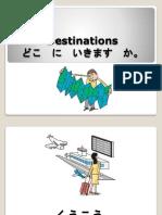 Movement Verbs and Destinations