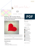 Pattern_ 3D Crochet Heart