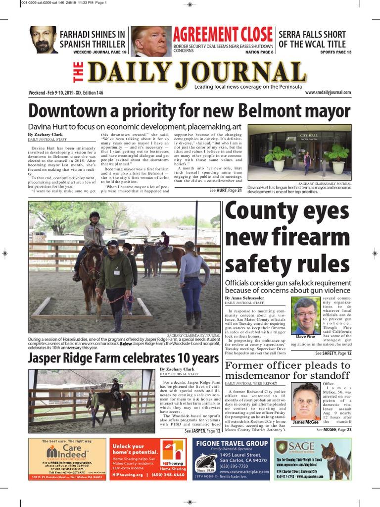 bb517a2a4e926 San Mateo Daily Journal 02-09-19 Edition | Leisure
