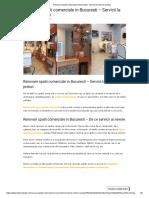 Renovare Spatii Comerciale in Bucuresti - Servicii La Cheie Si Preturi