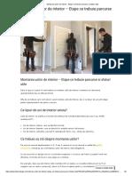 Montarea Usilor de Interior - Etape Ce Trebuie Parcurse Si Sfaturi Utile