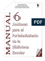 6 Acciones Para El Fortalecimiento 2010