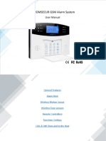 GSM Alarm System en Ver 180209