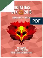 Diktat UAS Semester 3 Tekkim UI 2016
