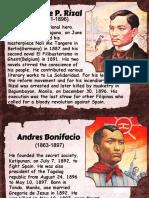 #Philippine Heroes