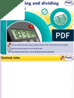 Multiplying and dividing decimals windows 8.ppt