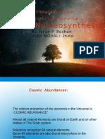 Stellar Nucleosynthesis by Tarun p. Roshan,