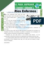 Ficha Los Ríos Enfermos Para Tercero de Primaria