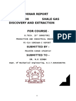 Report on Shale Fuel