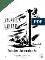 BUENCAMINO F Sr - My Soul's Lament
