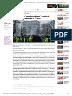 Manifestaţiile _vestelor Galbene Continuă Pentru a 13-A Sâmbătă În Franţai Online