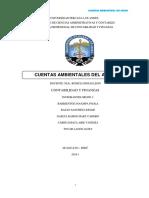 Mongrafia Cuentas Del Agua