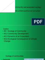 Chapter 15-Community & Ecosystem Ecology