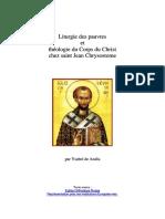 Dlscrib.com Chrysostome Et Le Sens Du Pauvre