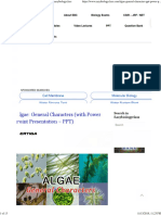 General Characteristics of Algae With Key Points _ Easybiologyclass