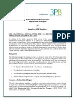 Article - Judicial Salute to Fundamental Adjudication Principles Katie Lee