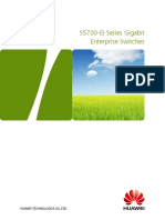 HUAWEI S5700-EI Series Switches Datasheet