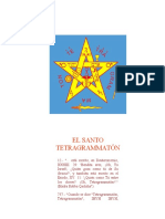 EL SANTO TETRAGRAMATÓN