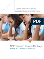 ACT Tessera review package