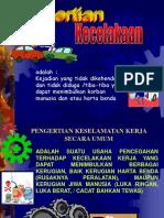 8.Pencegahan kecelakaan