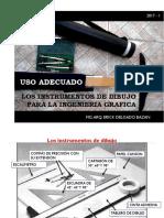 Usos de Instrumentos