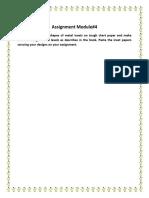 PMC Module 4 Assignment (Sada Gul Roll#D12905)