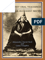 Alexandra David-Neel - The Secret Oral Teachings in Tibetan Buddhist Sects