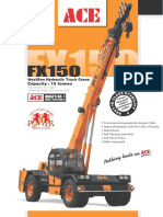 ACE FX150 Pick and Carry Crane