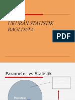 Ukuran Statistik Data