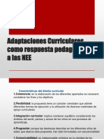 Adaptaciones Curriculares - Matriz