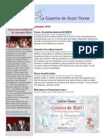 gazette musichome automne 2018