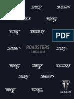 Triumph Raodsters Range 2018