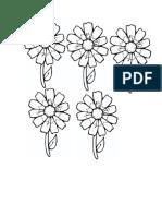 tipar floare