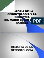 Presentacion 6 Historia de La Geront. y Ger. 2019