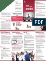 Folleto Guía Demandante de Empleo